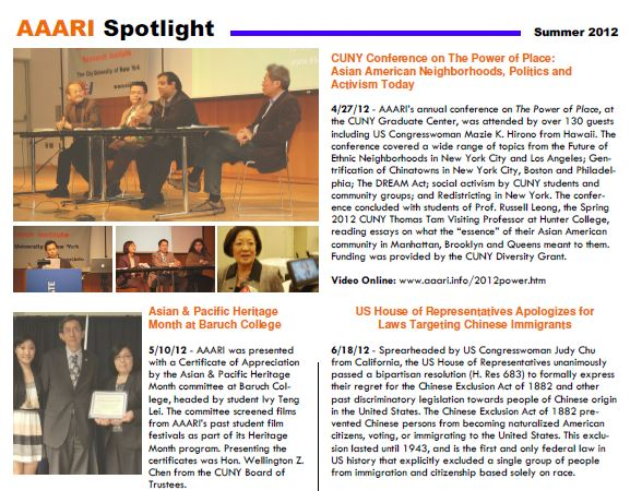 June 2012 – Asian American and Asian Research Institute